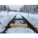 Innovativ tågväxelvärmare testas på Inlandsbanan