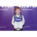 ​Eight–year-old Preston stroke survivor receives regional recognition