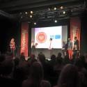 Anne Klepsland Simonsen, strategisk rådgiver, mottok prisen på vegne av LOS Energy