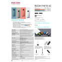 Ricoh Theta SC, specifikationer