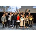 Vinnarna på STOCKmotion filmfestival 2017.