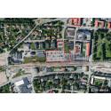 Området Fabriken i Växjö. Bild: LBE Arkitekter.