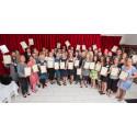 53 särskilt yrkesskickliga lärare i skola och förskola tar emot Aretes meriteringsbevis!