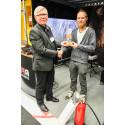 Andreas Norberg från Björdalsgruvan bäst i världens enda skrotningssimulator