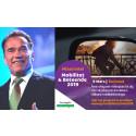 Arnold Schwarzenegger skickar exklusiv hälsning till Gröna Bilisters konferens Mobilitet & Beteende i Karlstad den 6 mars