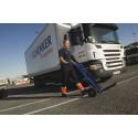 Het arbetsmarknad för lastbilsförare - 2 600 nya förare behövs det närmaste halvåret