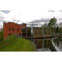 Ökat vattenflöde i Lagan mellan kraftstationerna i Ängabäck och Majenfors