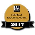 Officiell logga för Sveriges Favoritlakrits 2017