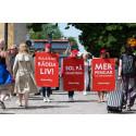Hjärt-Lungfonden sprider hjärtefrågor i Almedalen