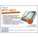 """Vecow MTC-4021 - En fläktlös 21.5"""" multi-touchdator"""