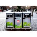 Borås Stad testar smarta papperskorgar