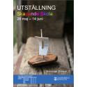 Skapande elever i Lindesberg ställer ut i Galleri Konstrummet