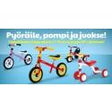 Lastenpolkupyörät -28% / Kevään t-paidat -50% / Phil & Thed -28% / Kylpyhuoneviikot -28% / Lelut -81%
