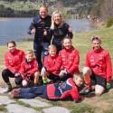 Treneren til Team Telemark lærte Stine skigåing