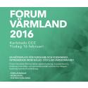 Forum Värmland - för forskning inom hälsa och vård