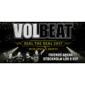 Volbeat till Friends Arena!