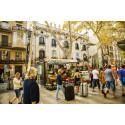 Virreina-torget i Barcelona