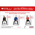 Avlastat stående - Aktivt sittande