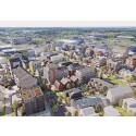 Linköpings kommun visar upp Vallastaden på Business Arena