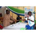 Ungdom overtar Sierra Leones nasjonale parlamentet