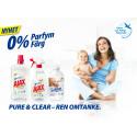 NYHET! - Parfymfri rengöring och sköljmedel från Ajax och Softlan!