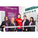Road safety campaigner joins Vision Express to officially open its new optical store at Tesco in Accrington