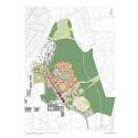 Plankarta från planprogram för Lilljansberget