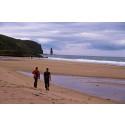 Online surfers hit remote Scottish beach