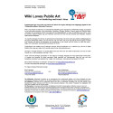 Wiki Loves Public Art Pressrelease 2013