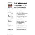 Målerås Muskkår - Evenemang vår/sommar 2017