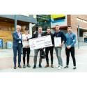 OBOS Sverige AB tar emot OPTIWARE Productivity Award 2018