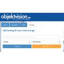Rekordmånga företag till salu på Objektvision.se