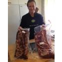 Ejmunds testar ny metod för hängmörning av nötkött