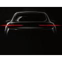 Ford släpper första bilden på Mustanginspirerade elbilen