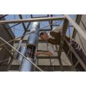 Vetenskapsmannen Robert Goddard och den allra första rymdraketen