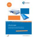 UltraScraper NY Metall detekterbar och antimikrobiell skrapa.