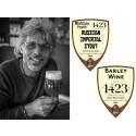Två småskaliga ölexperiment från danska Midtfyns Bryghus - Russian Imperial Stout Rum Barrel Aged &  Barley Wine Caroni Rum Barrel Aged