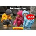Lisää tuotteita ALE-laatikkoon!  Jopa -81% leluista / Uusia sadevaatteita / Jopa -31% itkuhälyttimistä ja turvaporteista
