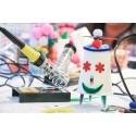 Inicio ger alla möjlighet att förstå mer om digital teknik och bygga en enkel konst-robot under Järvaveckan