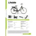 Produktblad Lifebike Hybrid Dam 7-vxl