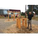Tre nya spontanytor invigda i Haninge kommun