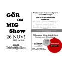 GÖR-OM-MIG-show!  - Teleborgs Slott, Växjö 26 nov
