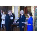 Zetas grundare fick kunglig medalj