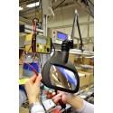 Wave LED ESD Förstoringslampa för elektroindustrin