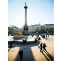 Trafalgar Square i London