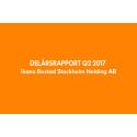 Ikano Bostad Stockholm Holding AB (publ) Delårsrapport 1 januari-30 juni 2017