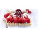 Belgiska våfflor på Crystal Cubik desserfat