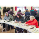 Norfolk stroke survivors express themselves with help of charity workshops