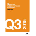 Rapport: Manpower Arbetsmarknadsbarometer kvartal 3 2015