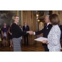 Kungens medalj till Inger Lise Olsen